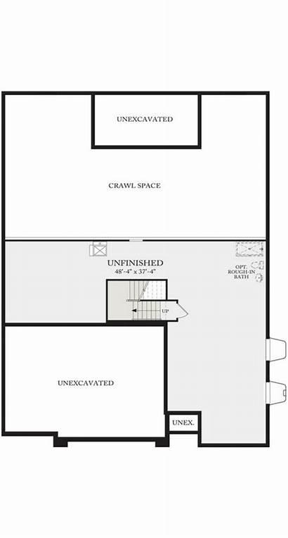 Calatlantic 5a01 Plan Basement Floor Residence Homes