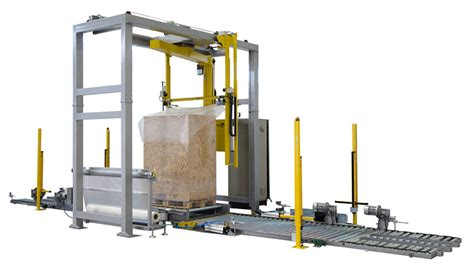 stretch wrappers  strapping machines atlanta revolution automatic stretch wrapping machine