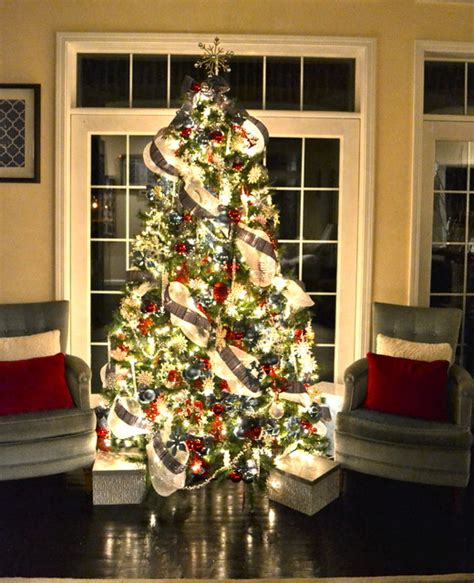 modern decorated christmas trees christmas tree contemporary living room other metro