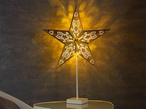 Weihnachtsdeko Fensterbank Beleuchtung by Lunartec Tischleuchte Deko Tischleuchte In