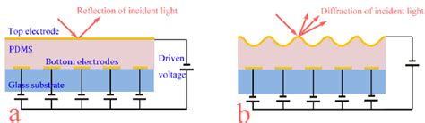 spatial light modulator schematic drawing of the tunable spatial light modulator