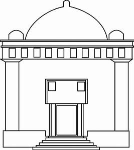 Temple clipart synagogue - Pencil and in color temple ...