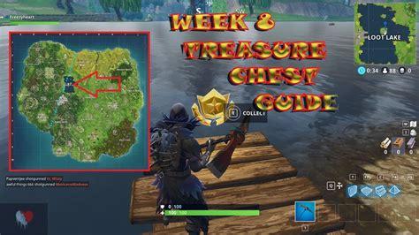 Fortnite Week 8 Treasure Map Location Youtube
