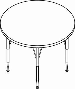 Table Line Drawing - ClipArt Best