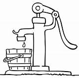 Pump Agua Drawing Pumps Drawings Colorear Brunnen Gota Coloring Sketch Imagui Imprimir Malvorlagen Yahoo Colorir Fonte Timtim Gotas Template Bomba sketch template