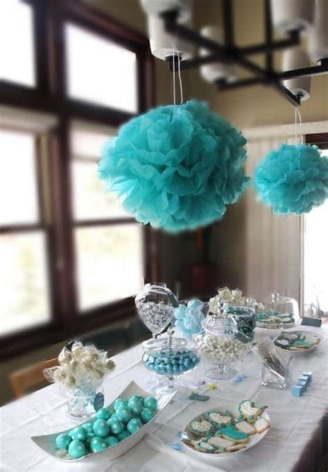 breakfast  tiffanys themed bridal shower ideas