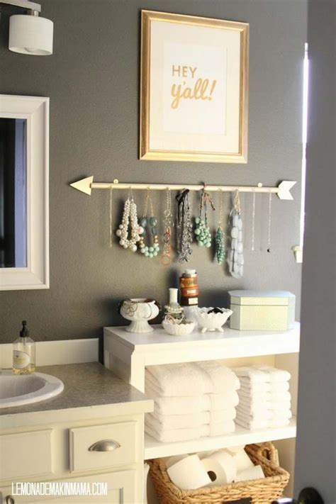 Decor Ideas For Small Bathrooms by 35 Diy Bathroom Decor Ideas You Need Right Now Home
