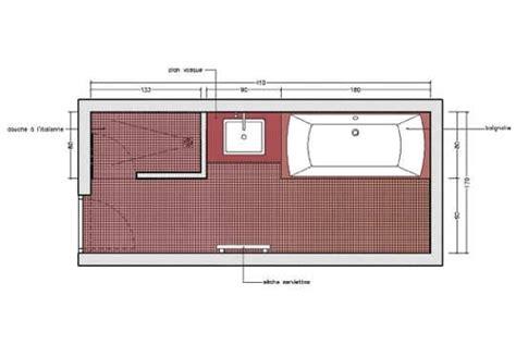 surface minimum pour une chambre avec une à l 39 italienne et une baignoire