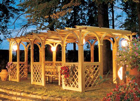 gazebo legno giardino italian gazebo design f lli aquilani arredo giardino
