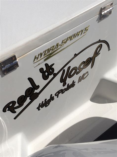 Stick On Numbers For Boats by Custom Vinyl Decals Custom Sticks Boat Numbers