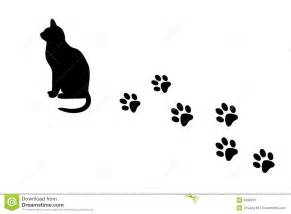 Dog and Cat Paw Prints Clip Art