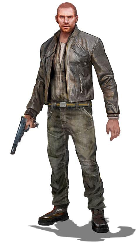 thug concept characters art uncharted 3 drake 39 s