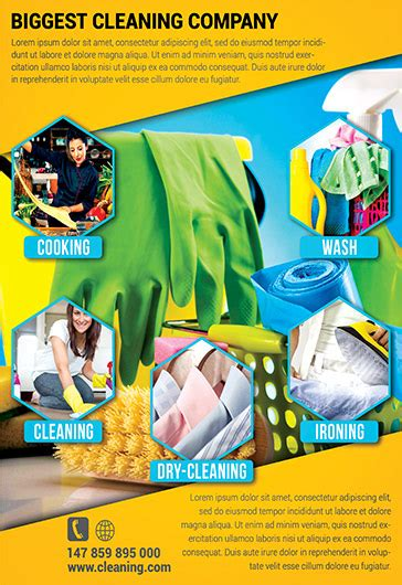 Cleaning Services Bi Fold Template By Elegantflyer House Cleaning Flyer Psd Template By Elegantflyer