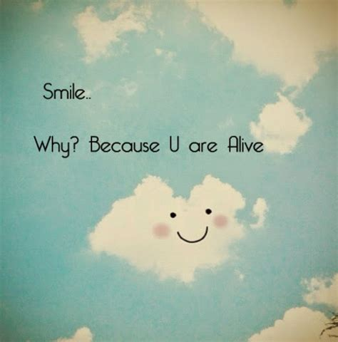 smile life quotes quotes quote clouds happy smile life