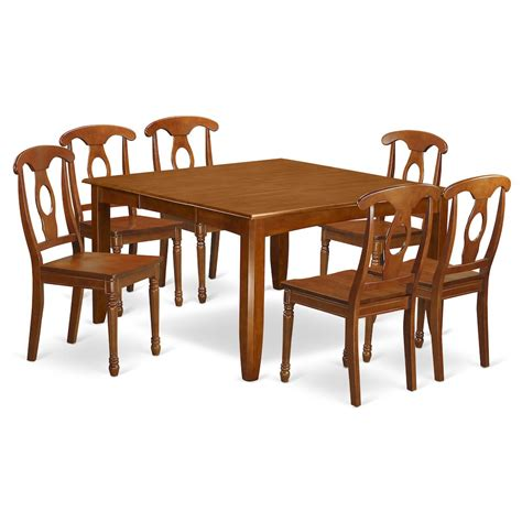 Dinette Table With Leaf by Bisonoffice 7 Pc Dining Room Set Dinette Table With Leaf