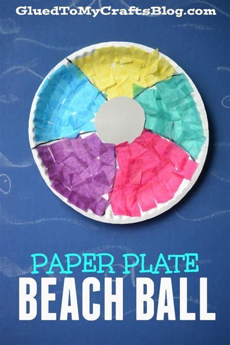 beach art activities for preschoolers paper plate kid craft 478