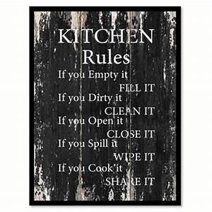 best canvas kitchen wall art products on wanelo With best brand of paint for kitchen cabinets with inspirational quotes canvas wall art