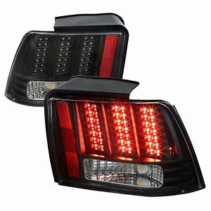 2004 Mustang Lights Sequential 1999 2004 Ford Mustang Led Sequential Lights Black