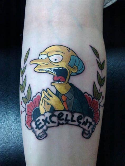 tatuagens inspiradas nos simpsons