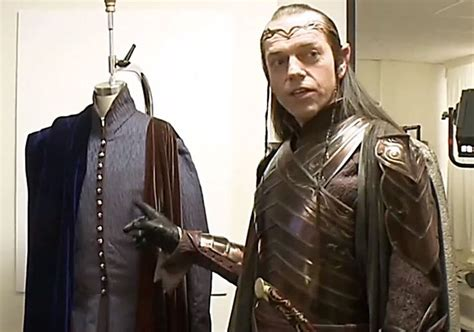 Elrond With The Costume Of Lindir With Images The