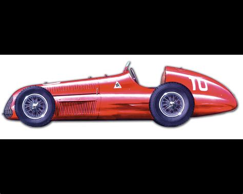 Alfa Romeo Grand Prix Tipo 159 Alfetta  1951 World Champion