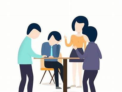 Talking Animated Clipart Animation Student Transparent Counseling