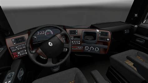 renault truck interior renault magnum interior euro truck simulator 2 mods