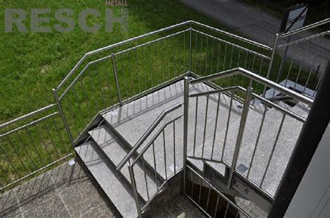stiegen und terrassengelaender resch metalltechnik