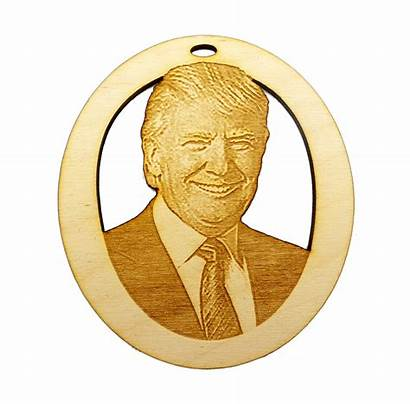 Trump Ornament President Ornaments Handmade History