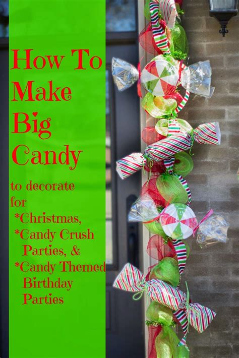 want some ideas on how to make inexpensive but large candy
