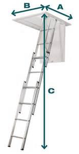 Dimension Escalier Escamotable by Escalier Escamotable Aluminium 3 Plans Centaure