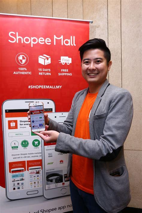 shopee malaysia officially launches shopee mall lipstiqcom