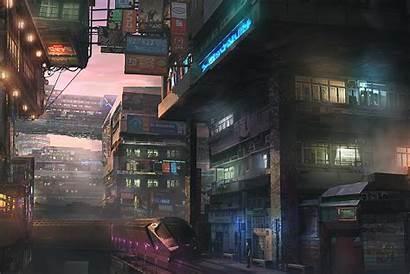Cyberpunk Sci Fi Mobile