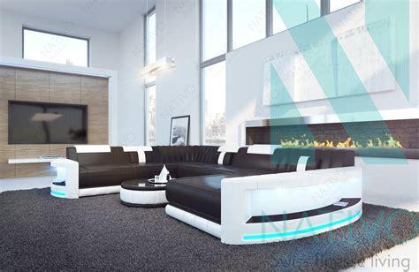 canapé d angle paiement en plusieurs fois canapé atlantis ac éclairage led nativo mobilier design