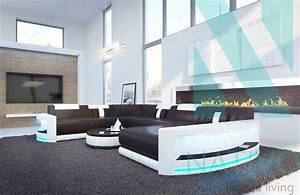 canape atlantis xxl ac eclairage led nativo mobilier design With tapis design avec xxl canapé