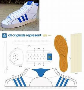 17 best images about templates patterns on pinterest With adidas shoe template