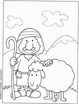 Coloring Shepherd Bom Pastor Sheep Jesus Appreciation Printable Desenhos Preacher Sobre Bon Shepherds Lost Brebis Berger 2603 Ob Template Perdue sketch template