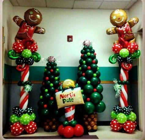 decoracion navidena  globos dale detalles