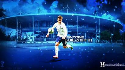 Griezmann Antoine Wallpapers Football Hkm Graphicstudio Deviantart