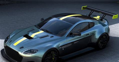 Modifikasi Aston Martin Vantage by Aston Martin Vantage Amr Mobil Balap Hasil Pengembangan