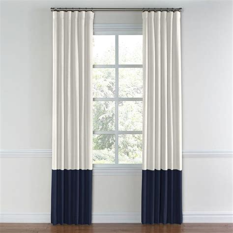 25 best ideas about color block curtains on
