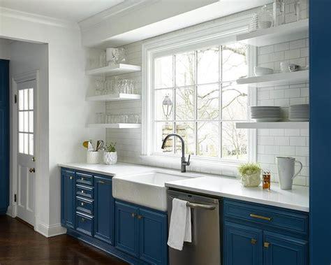 floating kitchen shelves transitional kitchen owens