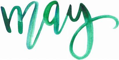 Month Clipart Calendar Japan Calligraphy Clip Transparent