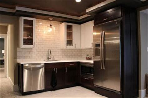 create  basement kitchenette suitable  teenagers