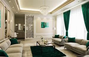 American Style House Interior Design In Dammam