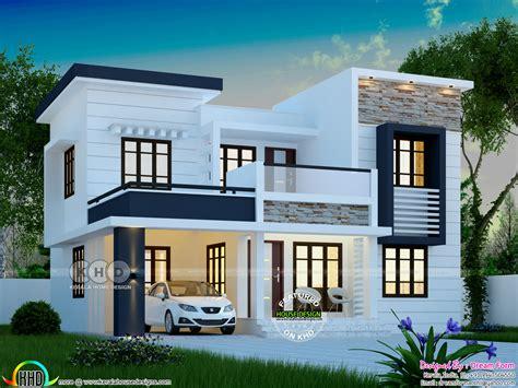 square feet modern bedroom house plan kerala home design floor plans houses