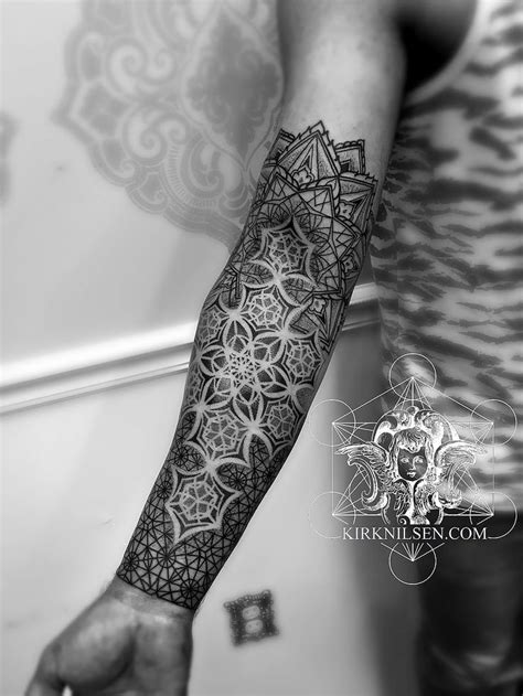 Kirk Nilsen | Black work tattoos (With images) | Geometry