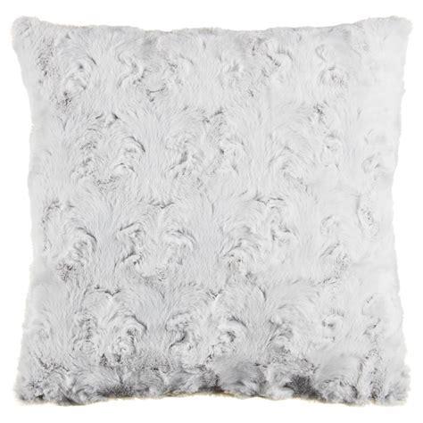 Gemma Textured Faux Fur Cushion Cover 2pk   Home Decor   B&M