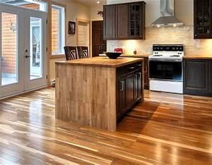poser un plancher sain ecologique et de provenace locale With plancher de vinyle de cuisine