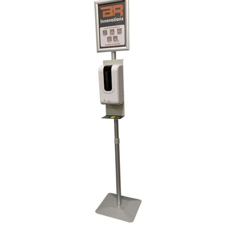 Portable Automatic Touch free gel Hand Sanitizer Station ...